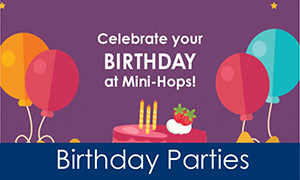 Gymnastics Birthday Party | Mini Hops Gymnastics Programs