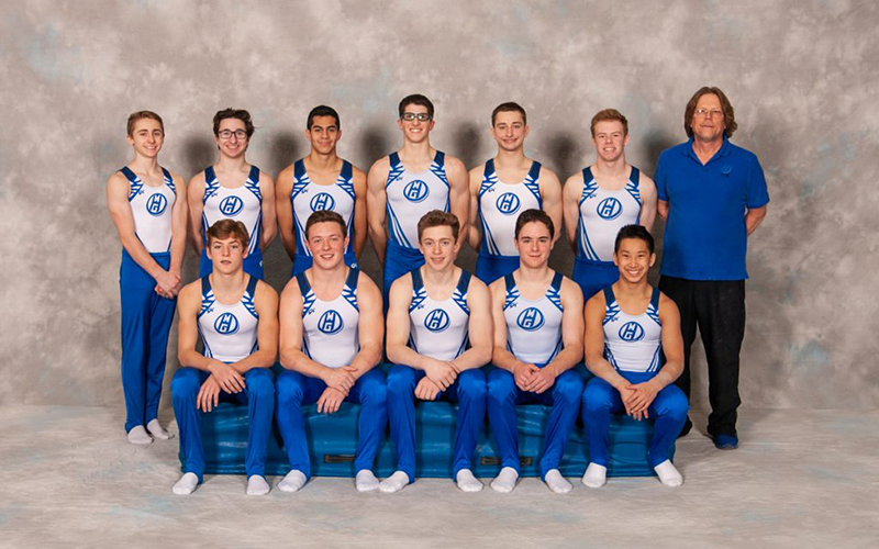 Meet the Mini Hops Boys Gymnastics Team