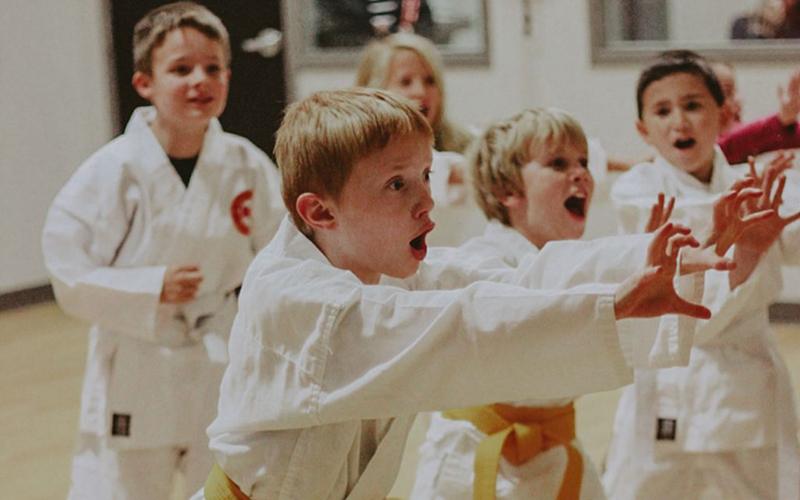 Premier Karate Classes for Mini Hoppers | Mini Hops Gymnastics